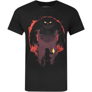 vaatteet Miehet Lyhythihainen t-paita League Of Legends  Black
