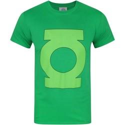 vaatteet Miehet Lyhythihainen t-paita Green Lantern  Green