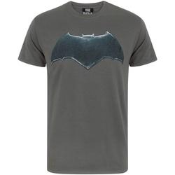 vaatteet Miehet Lyhythihainen t-paita Justice League  Charcoal