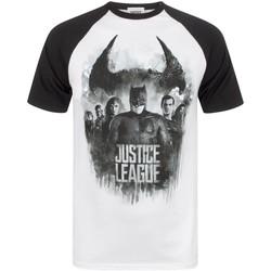 vaatteet Miehet Lyhythihainen t-paita Justice League  Multicoloured