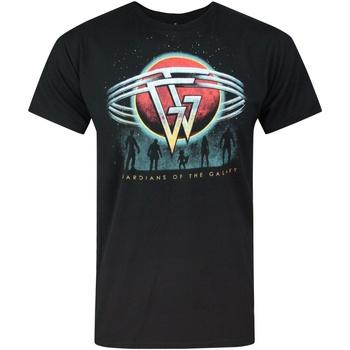 vaatteet Miehet Lyhythihainen t-paita Guardians Of The Galaxy  Black