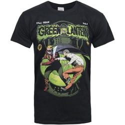 vaatteet Miehet Lyhythihainen t-paita Green Lantern  Grey