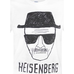 vaatteet Miehet Lyhythihainen t-paita Breaking Bad  White