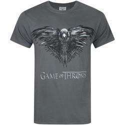 vaatteet Miehet Lyhythihainen t-paita Game Of Thrones  Charcoal