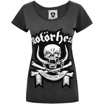 vaatteet Naiset Lyhythihainen t-paita Amplified  Charcoal