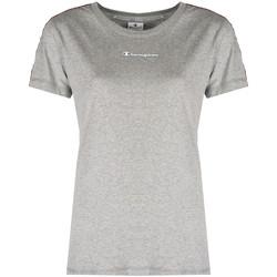 vaatteet Naiset Lyhythihainen t-paita Champion  Harmaa