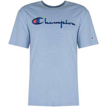 vaatteet Miehet Lyhythihainen t-paita Champion  Sininen