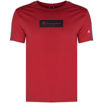 vaatteet Miehet Lyhythihainen t-paita Champion  Punainen