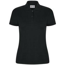 vaatteet Naiset Lyhythihainen poolopaita Casual Classics  Black
