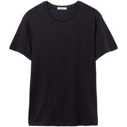 vaatteet Miehet Lyhythihainen t-paita Alternative Apparel AT015 True Black