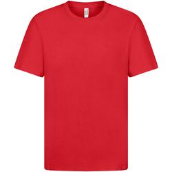 vaatteet Naiset Lyhythihainen t-paita Casual Classics  Red