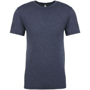 vaatteet Miehet Lyhythihainen t-paita Next Level NX6010 Indigo