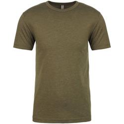 vaatteet Miehet Lyhythihainen t-paita Next Level NX6010 Military Green