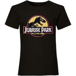 vaatteet Lyhythihainen t-paita Jurassic Park  Black