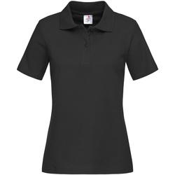 vaatteet Naiset T-paidat & Poolot Stedman  Black Opal