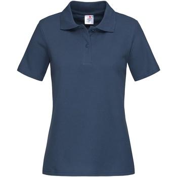vaatteet Naiset T-paidat & Poolot Stedman  Navy