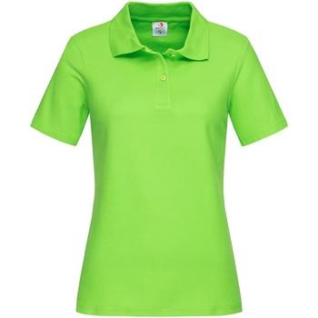 vaatteet Naiset T-paidat & Poolot Stedman  Kiwi Green