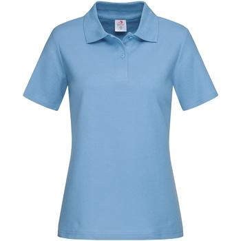 vaatteet Naiset T-paidat & Poolot Stedman  Light Blue