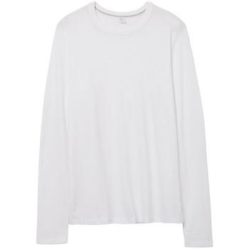 vaatteet T-paidat pitkillä hihoilla Alternative Apparel AT014 White