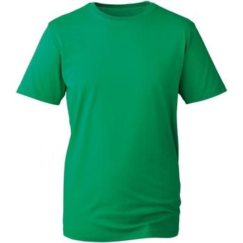 vaatteet Miehet Lyhythihainen t-paita Anthem AM010 Kelly Green