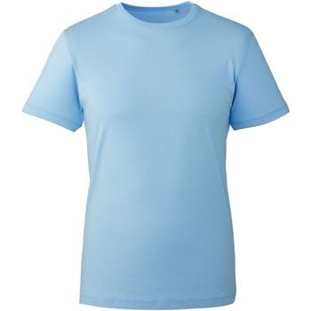 vaatteet Miehet Lyhythihainen t-paita Anthem AM010 Light Blue