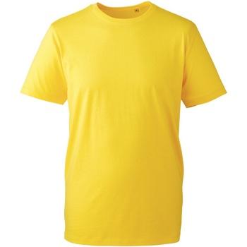 vaatteet Miehet Lyhythihainen t-paita Anthem AM010 Yellow