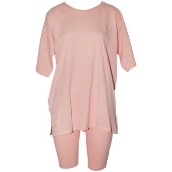 vaatteet Naiset pyjamat / yöpaidat Forever Dreaming  Peach