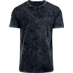 vaatteet Miehet Lyhythihainen t-paita Build Your Brand BY070 Dark Grey/White