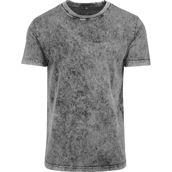 vaatteet Miehet Lyhythihainen t-paita Build Your Brand BY070 Grey/Black