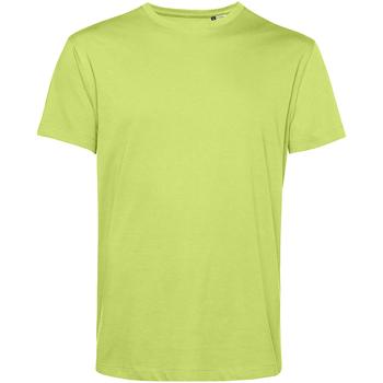 vaatteet Miehet Lyhythihainen t-paita B&c TU01B Lime