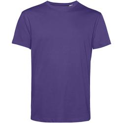 vaatteet Miehet Lyhythihainen t-paita B&c TU01B Radiant Purple