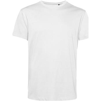 vaatteet Miehet Lyhythihainen t-paita B&c TU01B White