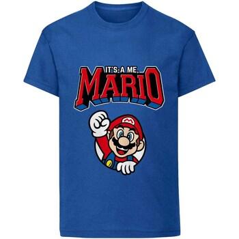 vaatteet Lapset Lyhythihainen t-paita Super Mario  Blue