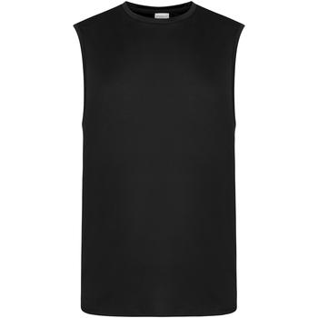 vaatteet Miehet Hihattomat paidat / Hihattomat t-paidat Awdis JC022 Jet Black