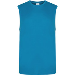 vaatteet Miehet Hihattomat paidat / Hihattomat t-paidat Awdis JC022 Sapphire Blue