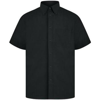 vaatteet Miehet Lyhythihainen paitapusero Absolute Apparel  Black