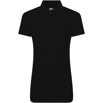 vaatteet Naiset Lyhythihainen poolopaita Prortx RX01F Black