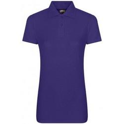 vaatteet Naiset Lyhythihainen poolopaita Prortx RX01F Purple