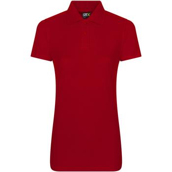 vaatteet Naiset Lyhythihainen poolopaita Prortx RX01F Red