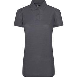 vaatteet Naiset Lyhythihainen poolopaita Prortx RX01F Solid Grey