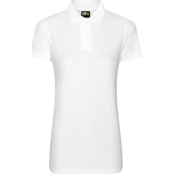 vaatteet Naiset Lyhythihainen poolopaita Prortx RX01F White