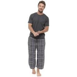 vaatteet Miehet pyjamat / yöpaidat Foxbury  Grey Check