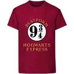 vaatteet Naiset Lyhythihainen t-paita Harry Potter  Purple
