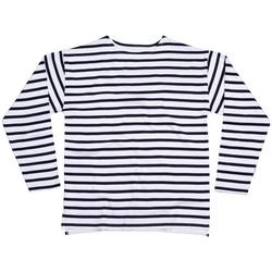 vaatteet T-paidat pitkillä hihoilla One By Mantis M136 White/Navy