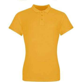 vaatteet Naiset Lyhythihainen poolopaita Awdis JP10F Mustard