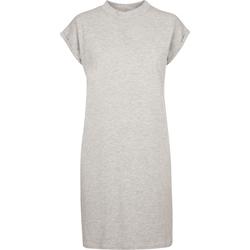 vaatteet Naiset Lyhyt mekko Build Your Brand BY101 Grey Heather