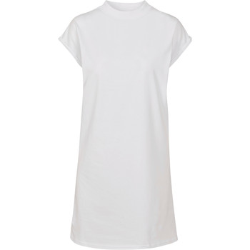 vaatteet Naiset Lyhyt mekko Build Your Brand BY101 White