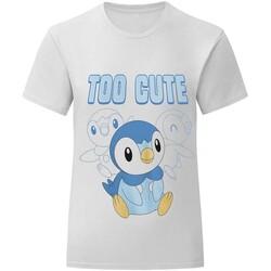 vaatteet Lapset Lyhythihainen t-paita Pokemon  White