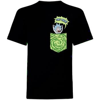 vaatteet Lyhythihainen t-paita Rick And Morty  Black