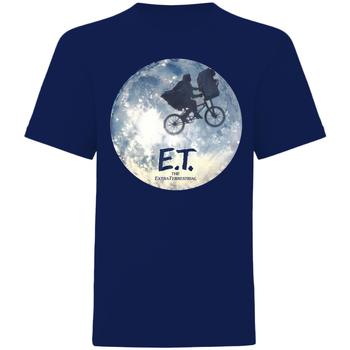 vaatteet Lyhythihainen t-paita E.t. The Extra-Terrestrial  Blue